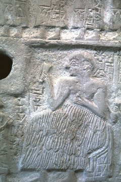 The purpose of art in ancient Sumeria was to maintain social stability.