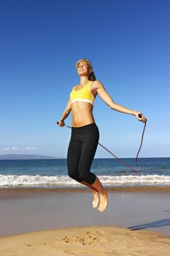Jumping rope offers many benefits.