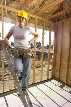 Carpentry is an uncommon but viable career choice for women.
