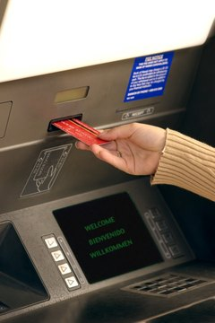 Be careful of fake ATMs that swallow cards.
