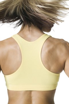 Weight training for your upper back will build your muscle tone.