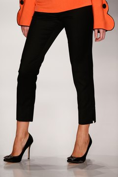 Pair stilettos with cigarette pants for a crisp, modern style.