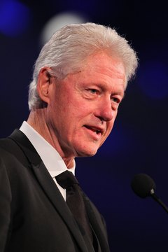 Former president Bill Clinton can be reached through his foundation.
