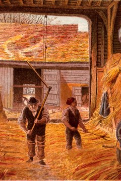 Peasants could barely feed themselves due to economic stagnation in France.