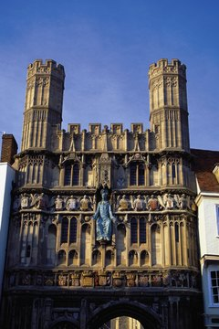 The Bishops of Canterbury and York are the religious leaders of the Church of England.
