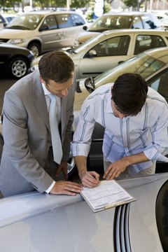 You don't have to finance your new car through the dealership.