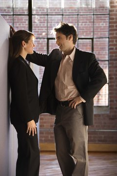 Romances at work can lead to problems with sexual harassment and discrimination.