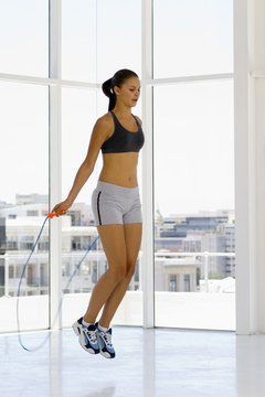 Jumping rope is a low-impact exercise if you do it correctly.