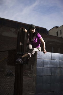 Parkour, or free running, requires a high level of physical fitness.