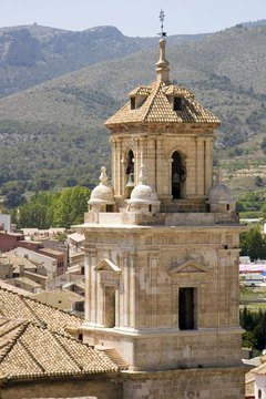 The Caravaca crucifix takes its name from the town of Caravaca in the Murcia region of Spain.
