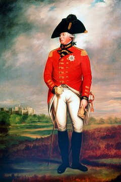 King George III reigned over England between 1760 and 1820.