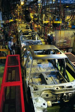 Car assembly line