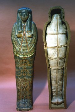 Ancient Egyptians buried mummies with everything they might need in the afterlife.
