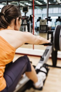 Rowing machines involve your whole body.