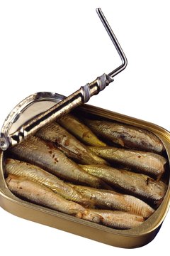 Canned sardines are filled with nutrients.