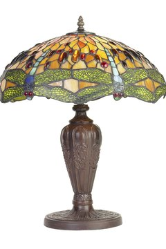 Collectible vintage lamps provide function and a source of cash when sold.