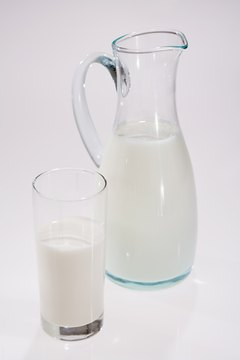 Milk contains calcium and phosphorus, two minerals vital for bone health.