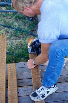 Trim inexpensive wood scraps to complete your carpentry projects.