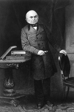 John Quincy Adams belonged to most of the political parties of his time.