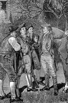 Paul Revere is best known for warning that British troops were approaching Concord.