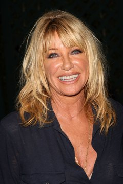 Fitness personality Suzanne Somers marketed the ThighMaster in the 1980s and 1990s.