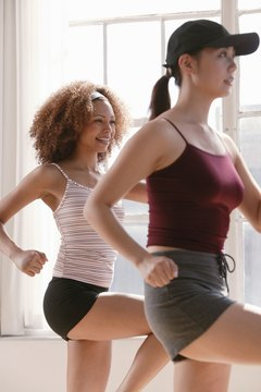Zumba burns calories fast to aid in weight loss.