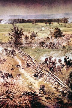 At the Battle of Gettysburg, 51,000 soldiers died, according to Georgia Perimeter College.