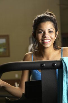 Ellipticals help tone up your leg and butt muscles.