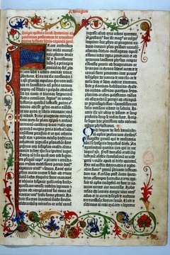 Gutenberg produced 200 copies of his Bible.