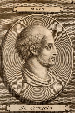 Solon was well known not only as a lawgiver, but as a poet.