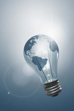 Creative ideas light up the business world.
