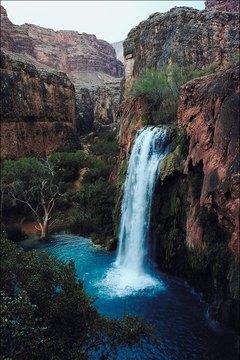 The Grand Canyon National Park's Havasu Canyon was home to the Havasupai.