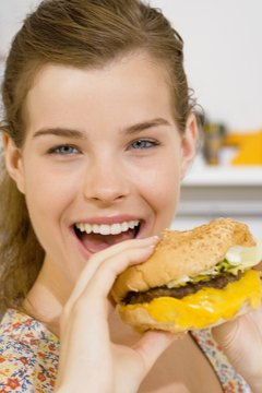 Fatty foods increase your cholesterol levels.