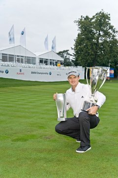 Justin Rose won the BMW Championship in the 2011 FedExCup playoffs.