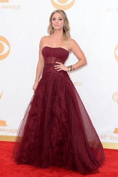 Delicate organza, like the fabric in actress Kaley Cuoco's gown, needs careful treatment.