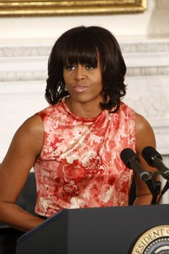 Skinny arms are out and sculpted arms like Michelle Obama's are in.