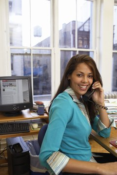 Spending too much time on personal calls can affect your performance review.