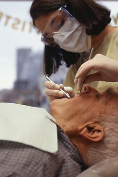 Dentists must wear protective goggles, masks and gloves.