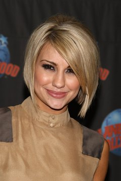 Inverted bobs like Chelsea Kane's flatter all face shapes.