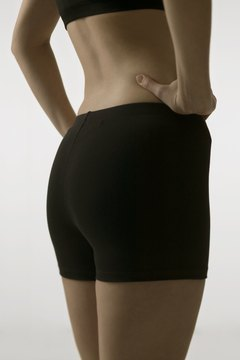 A variety of exercises help tone the butt.
