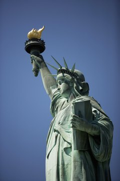 The Statue of Liberty symbolizes freedom in America -- yet the U.S. only ranks 15th in democracy.