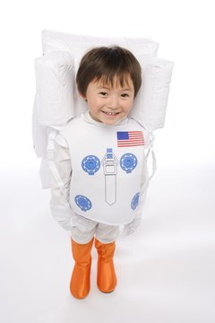 He's going to feel like a real astronaut with his own spaceship.
