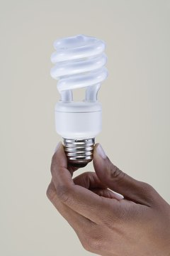 Compact fluorescent bulbs can save up to 75 percent of your lighting energy use.