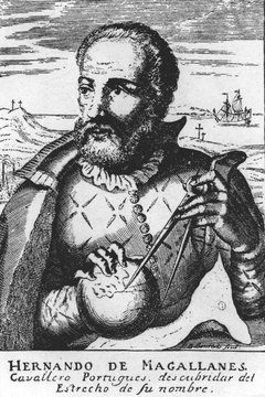 One of Magellan's ships became the first European vessel to circumnavigate the globe.