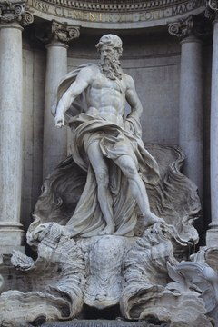 Though Poseidon is most associated with the sea, he was also the god and creator of horses.