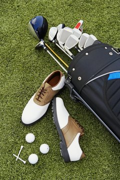 Golf requires several pieces of equipment.