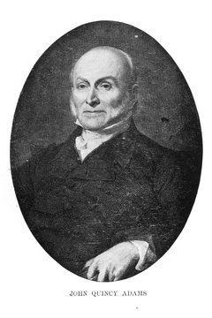 John Quincy Adams was appointed minister to the Netherlands by President George Washington.