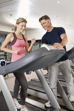 Many trainers use a treadmill for the submaximal test.