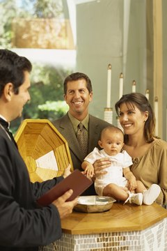 Infant baptism is common in the United Methodist Church.