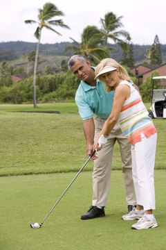 Learning the basics from a golf professional can really help get you going in the right direction.